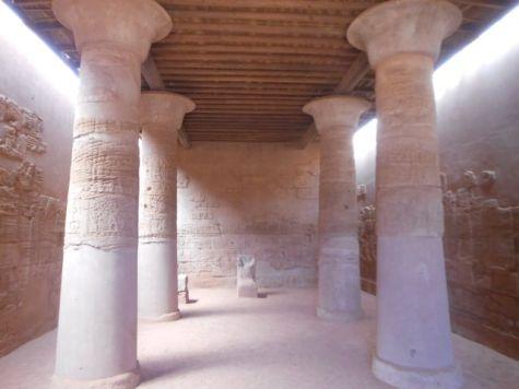 Inside the Lion Temple