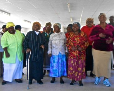 Singing and Dancing in the Townships