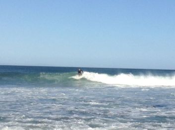 Surfing at J-Bay
