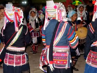 Akha festival