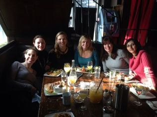 Girls brunch in Toronto