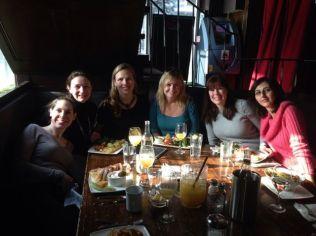 Girls brunch in Toronto