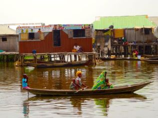 Ganvie, Benin - stilted village