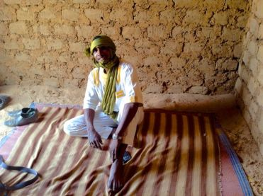 Ibrahim (another one) in Agadez