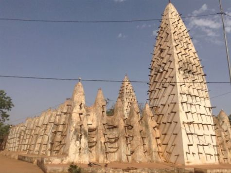 Mosque in Bobo Dialosso, Burkina Faso