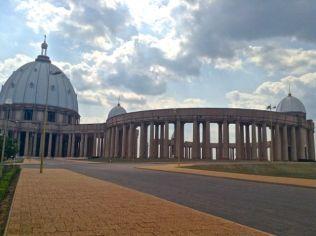 Basilica in Yakro, Cote D'Ivoire