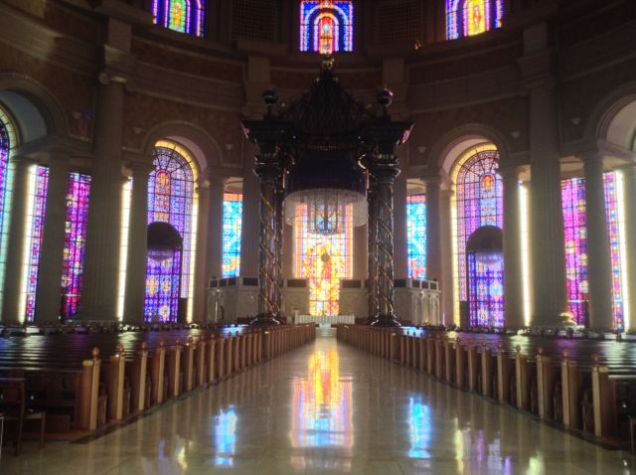 Stunning stained glass windows