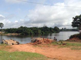 Liberian border crossing