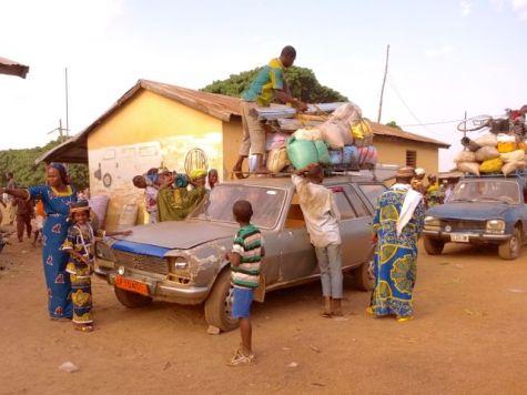 Market in Ajolde, Benin