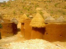 Fortress/castle like houses in Natitangou, Benin