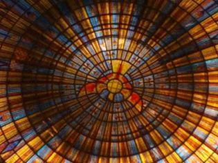 Cupola close-up