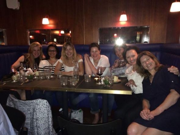 Farewell with the girls (missing Marijana!)