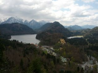 German Alps scenery