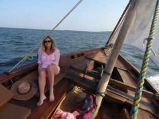 Dhow sailing